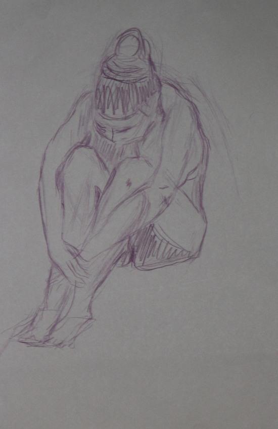 sittande , sedd uppifrån-kontrast-1