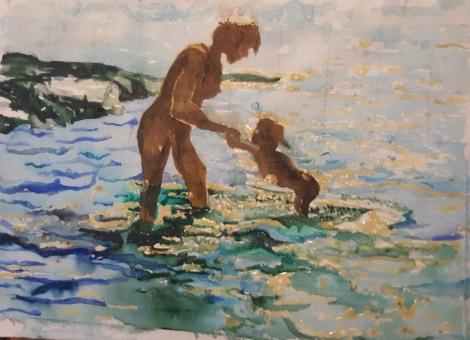 Mamma svänger barn i vatten _redigerad-1