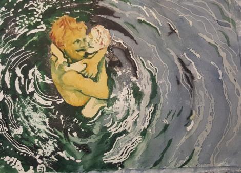 Pappa badar med barn 2_redigerad-1